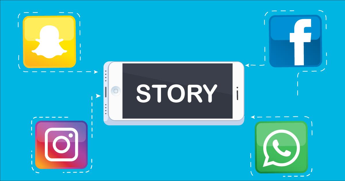 Snapchat Instagram Facebook Of Whatsapp Voor Je Verhaal
