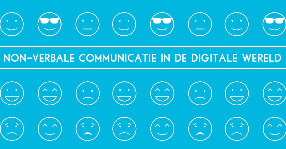 vormen van non verbale communicatie