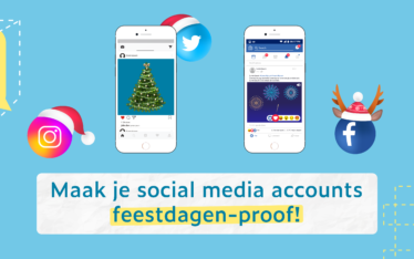 Maak je social media account feestdagen-proof